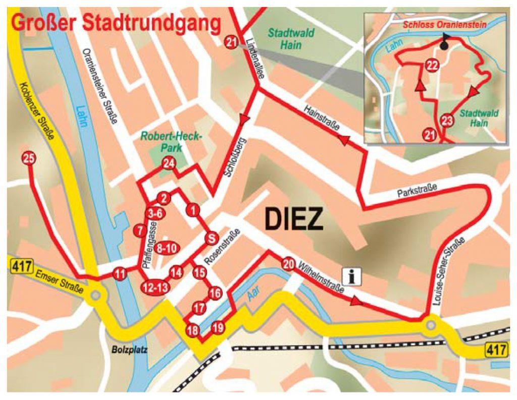 Diez – Großer Stadtrundgang 2