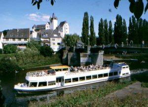 Floßfahrt auf der Lahn 1